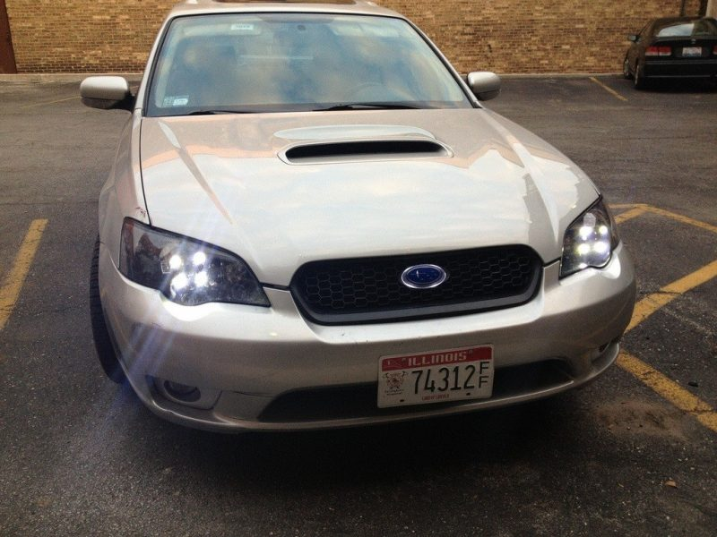 Legacy GT LED daytime running lights, LED highbeams, LED badge_8233628276_l