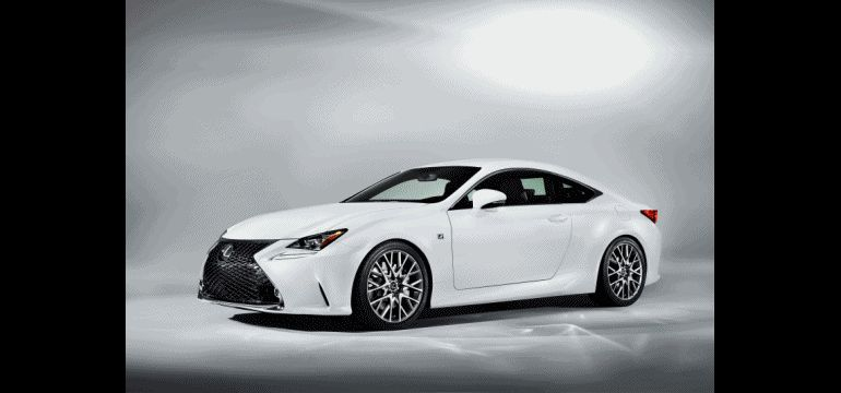 Lexus RC F Sport and GT3 GIF