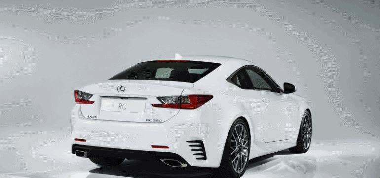 Lexus RC F Sport and GT3 GIF header