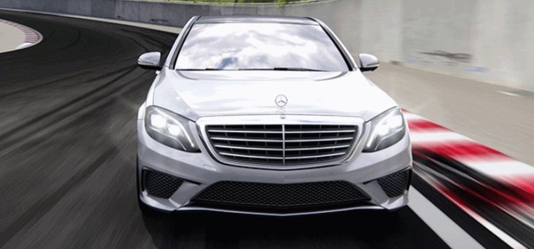 MB S63 AMG NEW COLORS RAPID GIF front