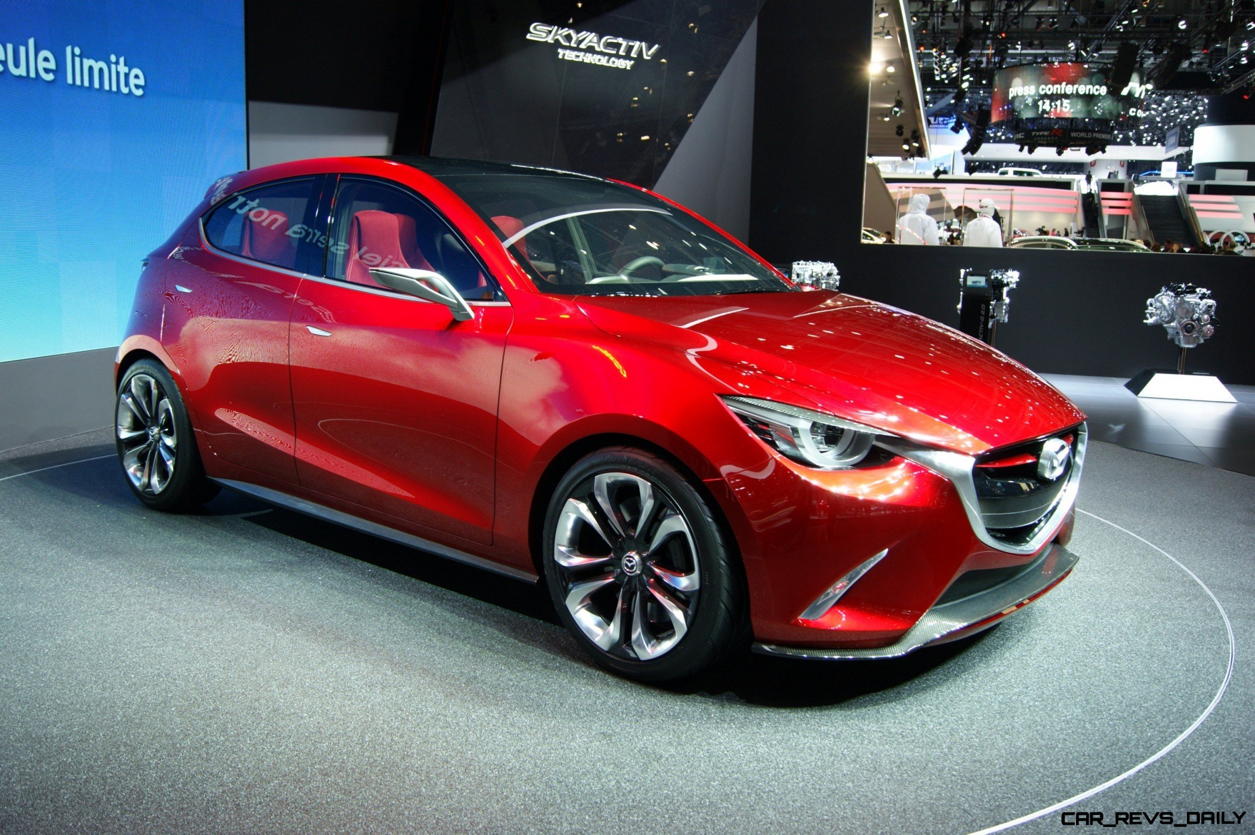 mazda hazumi next mazda2 going upscale with deep kodo. Black Bedroom Furniture Sets. Home Design Ideas