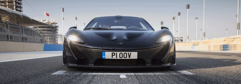 McLaren P1 Feb Photos Bahrain GP GIF 2