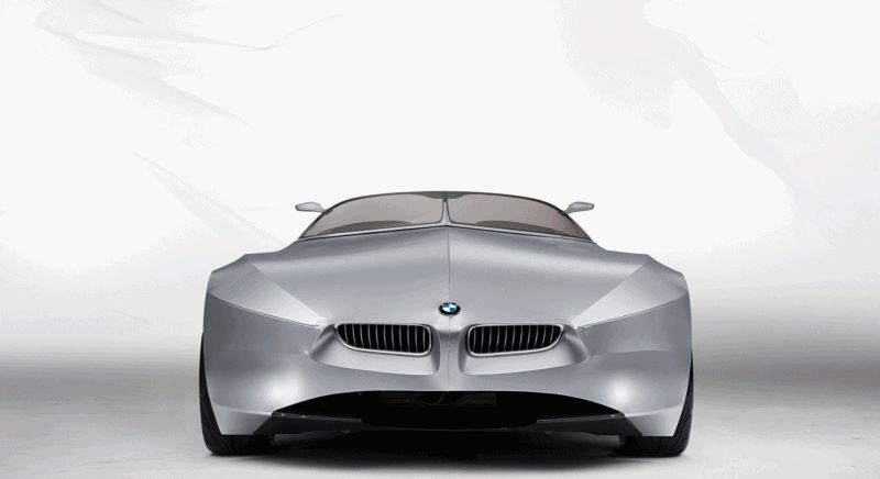 Nose Animation - 2006 BMW Concept GINA - GIF