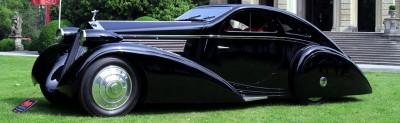 Peterson Auto Museum - 1925 Rolls-Royce Phantom I - 1934 Jonkheere Round Door Aero Coupe 20