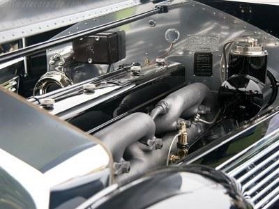 Peterson Auto Museum - 1925 Rolls-Royce Phantom I - 1934 Jonkheere Round Door Aero Coupe 26