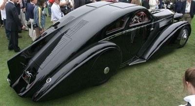 Peterson Auto Museum - 1925 Rolls-Royce Phantom I - 1934 Jonkheere Round Door Aero Coupe 27