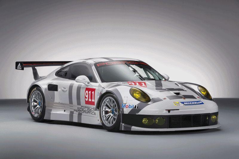 Porsche 911 RSR 2014 GIF