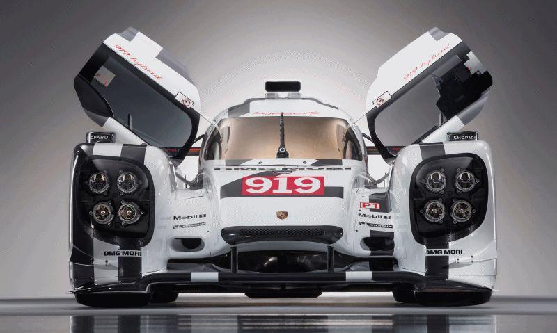 Porsche 919 LMP1 2014 GIF