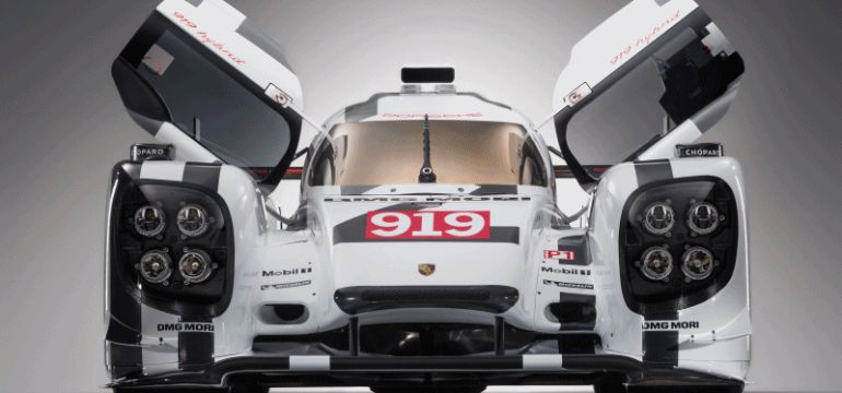 Porsche 919 LMP1 2014 GIF2