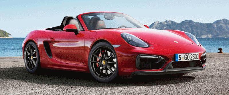 Porsche Boxster Cayman GTS gif