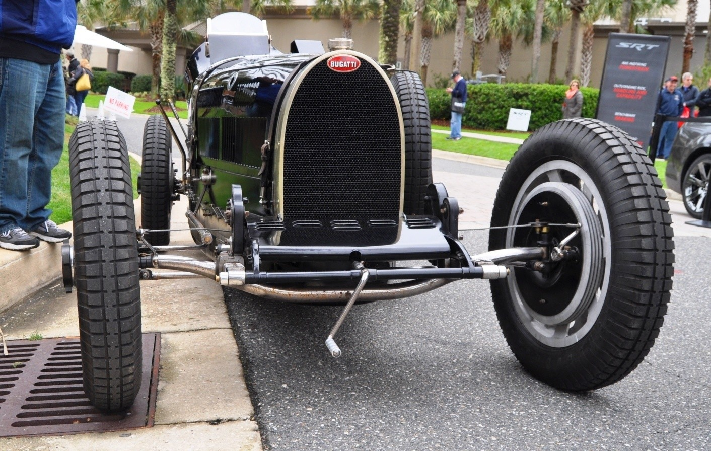 PurSang Argentina Shows Innovative Marketing with Street-Parked 1920s Bugatti GP Car1