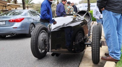 PurSang Argentina Shows Innovative Marketing with Street-Parked 1920s Bugatti GP Car19