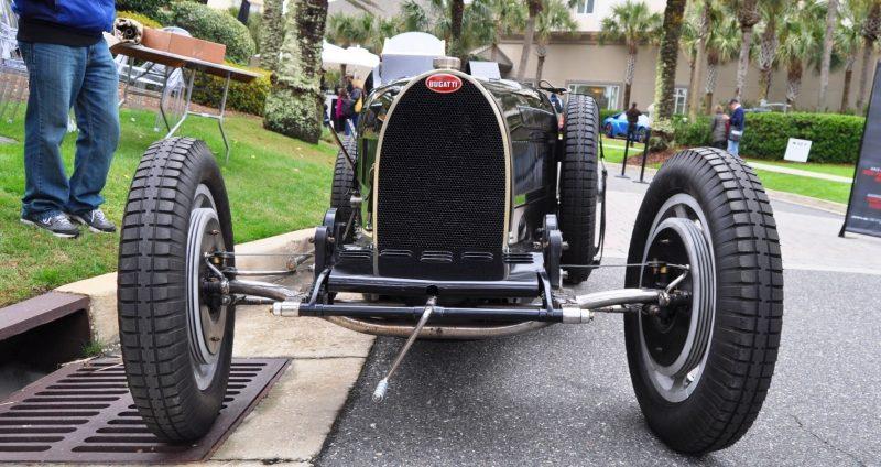 PurSang Argentina Shows Innovative Marketing with Street-Parked 1920s Bugatti GP Car2