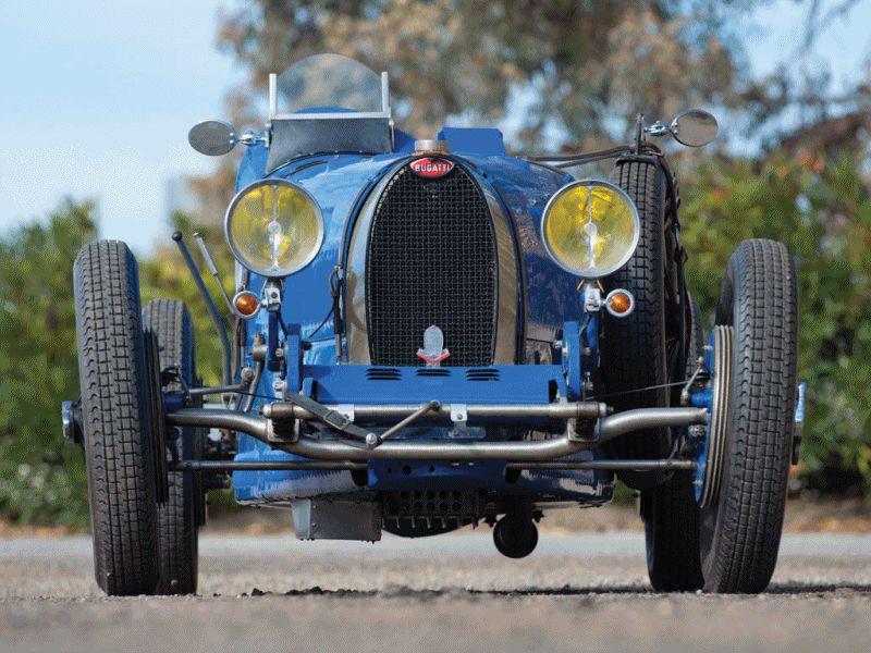 RM Auctions AM14 Bugatti T37A Blue GIF