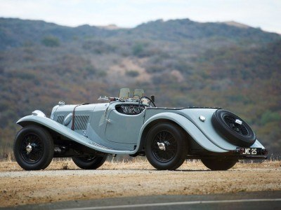 RM Auctions Amelia Island 2014 -- Aston Martin 15-98 Roadster 2