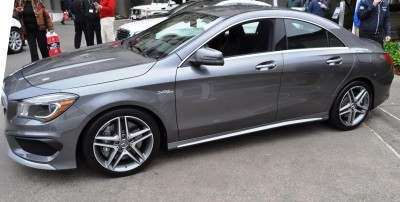 Sold-Out 2015 Mercedes-Benz CLA45 AMG -- Styling Walkaround + Exhaust Note Videos 11