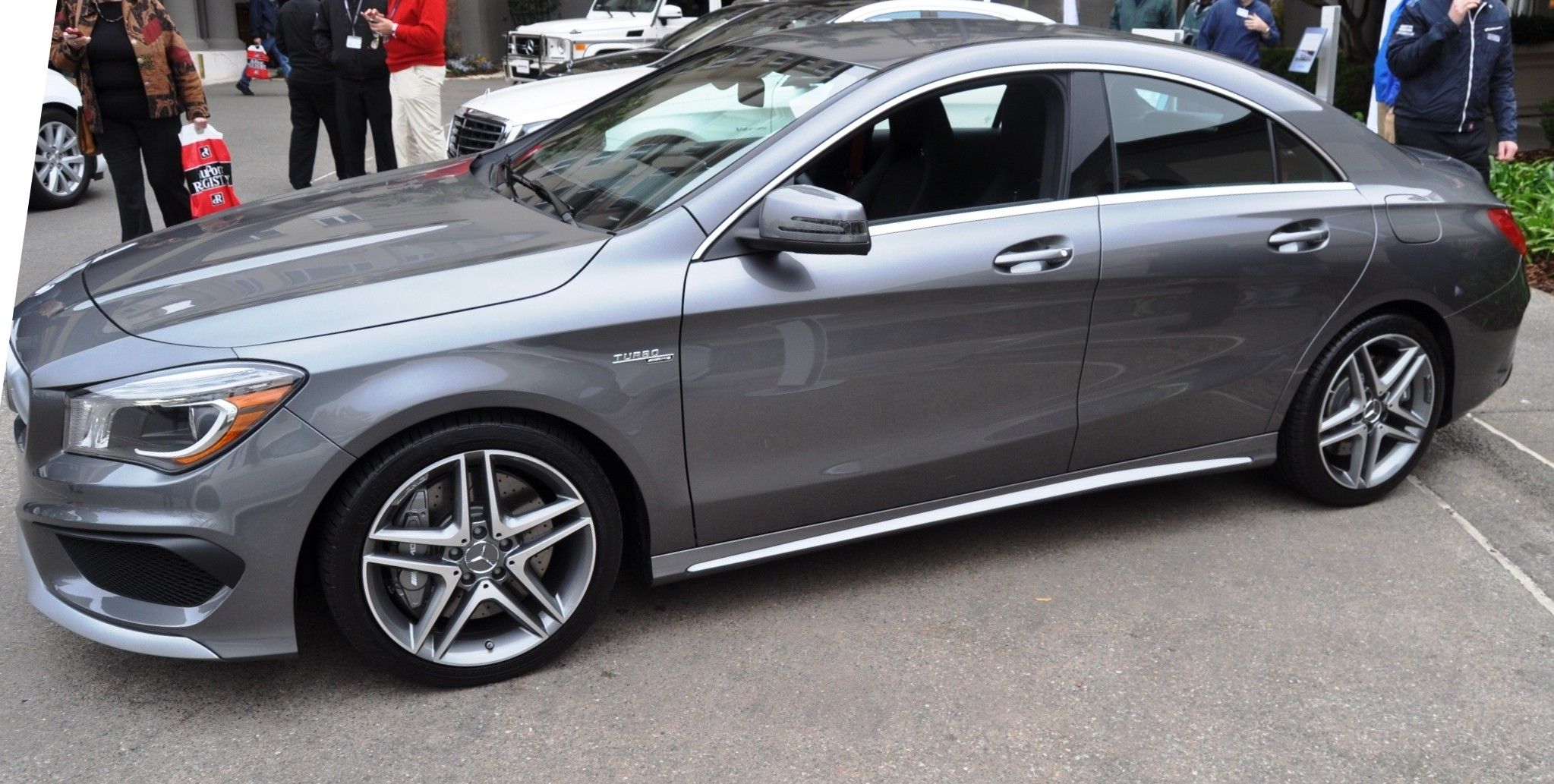 Track drive review 2015 mercedes benz cla45 amg at road for Mercedes benz 2015 cla