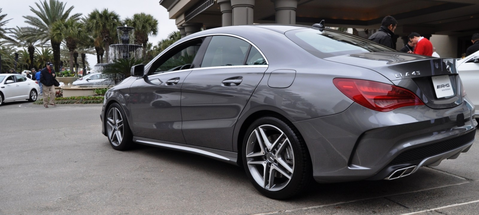 the sold out 2015 mercedes benz cla45 amg design walkaround exhaust note videos. Black Bedroom Furniture Sets. Home Design Ideas