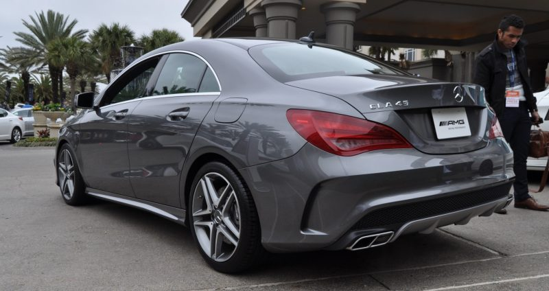 Sold-Out 2015 Mercedes-Benz CLA45 AMG -- Styling Walkaround + Exhaust Note Videos 15
