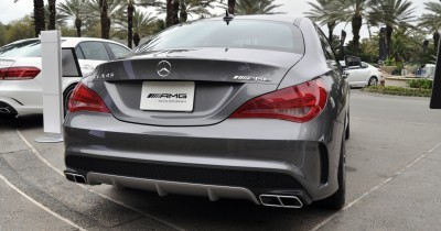 Sold-Out 2015 Mercedes-Benz CLA45 AMG -- Styling Walkaround + Exhaust Note Videos 19