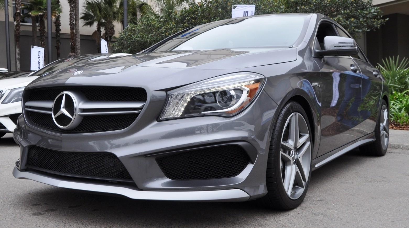 The sold out 2015 mercedes benz cla45 amg design for Mercedes benz exhaust