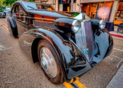 Steve Sexton Photographs the 1925-34 Rolls-Royce Phantom I Round Door Aero Coupe 5a