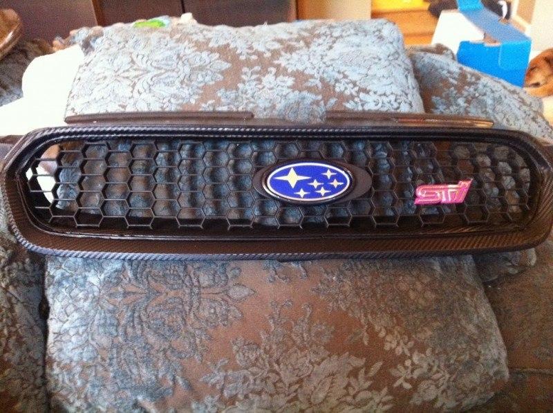 Suburu Legacy GT - DIT carbonfiber grille UK 04 STi_7176312046_l