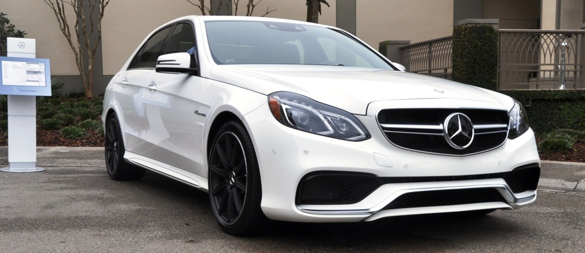The White Knight -- 2014 Mercedes-Benz E63 AMG 4Matic S-Model On Camera + 21 All-New Photos 1