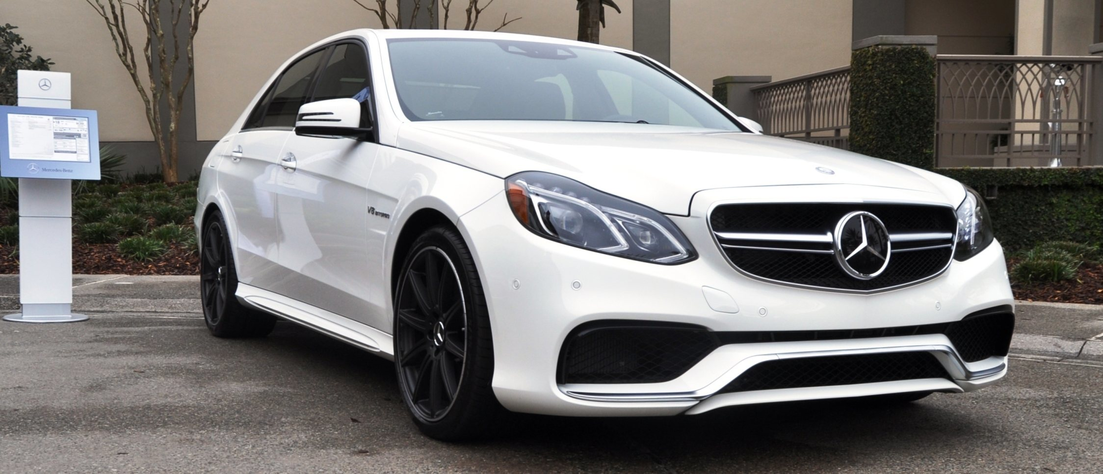 The White Knight 2014 Mercedes Benz E63 AMG 4Matic S Model