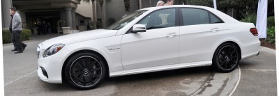 The White Knight -- 2014 Mercedes-Benz E63 AMG 4Matic S-Model On Camera + 21 All-New Photos 10