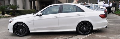 The White Knight -- 2014 Mercedes-Benz E63 AMG 4Matic S-Model On Camera + 21 All-New Photos 11