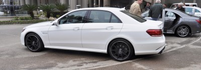 The White Knight -- 2014 Mercedes-Benz E63 AMG 4Matic S-Model On Camera + 21 All-New Photos 13
