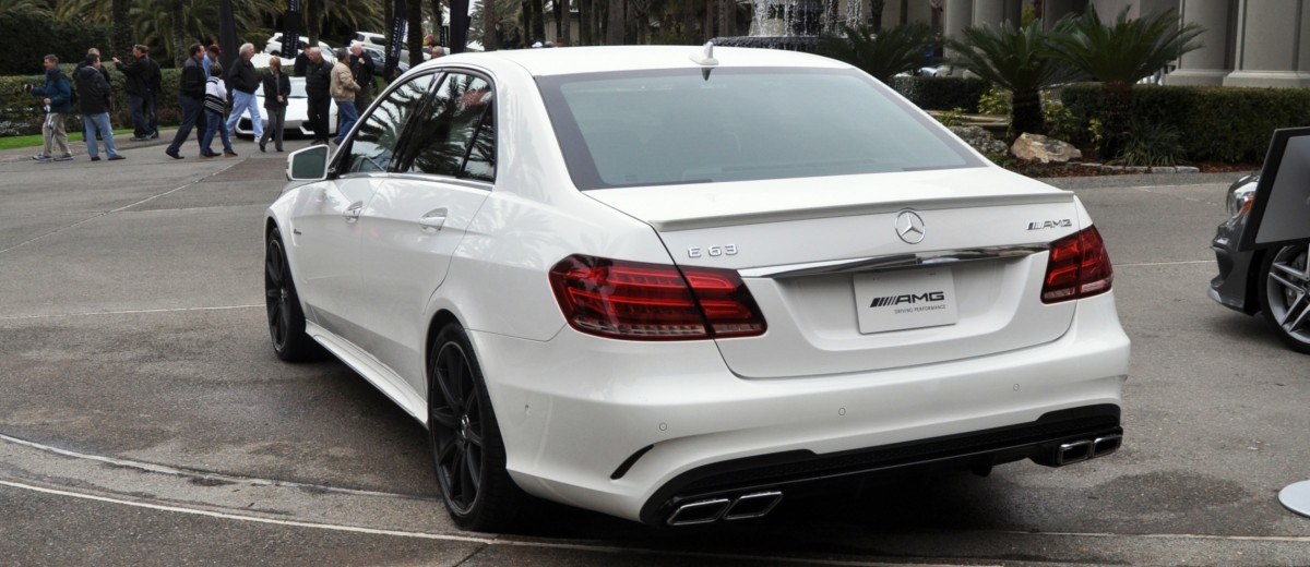 The White Knight -- 2014 Mercedes-Benz E63 AMG 4Matic S-Model On Camera + 21 All-New Photos 17