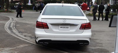 The White Knight -- 2014 Mercedes-Benz E63 AMG 4Matic S-Model On Camera + 21 All-New Photos 19