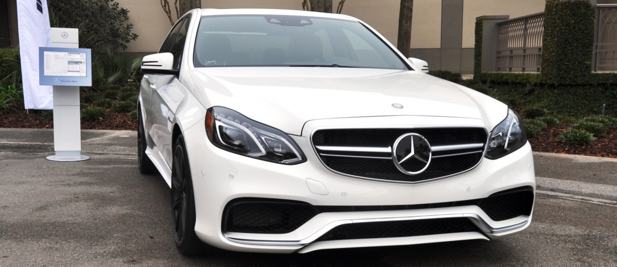 The White Knight -- 2014 Mercedes-Benz E63 AMG 4Matic S-Model On Camera + 21 All-New Photos 2