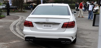 The White Knight -- 2014 Mercedes-Benz E63 AMG 4Matic S-Model On Camera + 21 All-New Photos 20