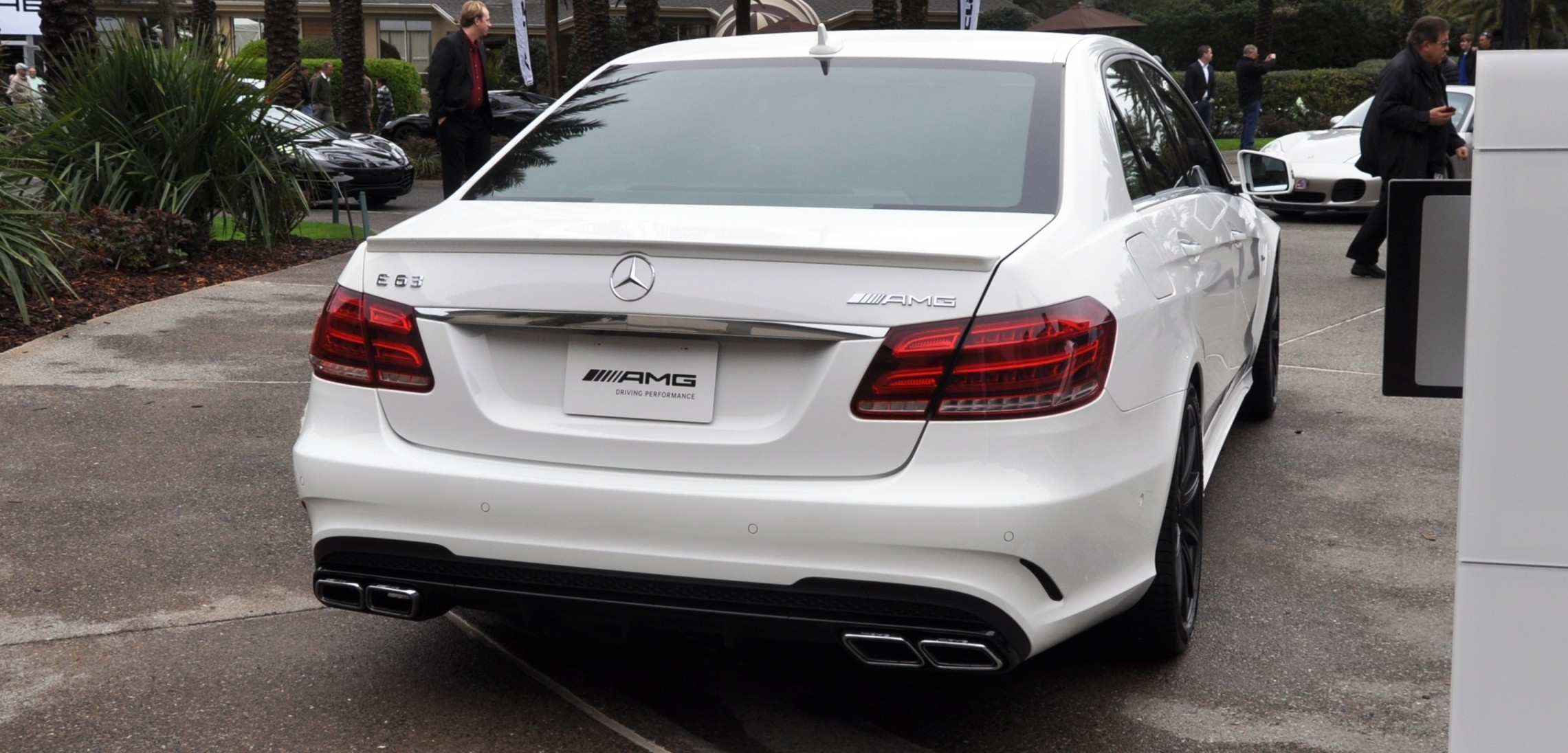 Previous Image. The White Knight -- 2014 Mercedes-Benz E63 AMG 4Matic S-Model  On