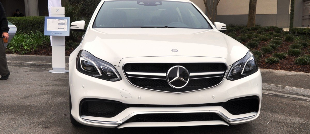 The White Knight -- 2014 Mercedes-Benz E63 AMG 4Matic S-Model On Camera + 21 All-New Photos 3
