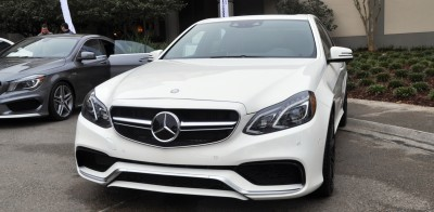 The White Knight -- 2014 Mercedes-Benz E63 AMG 4Matic S-Model On Camera + 21 All-New Photos 5