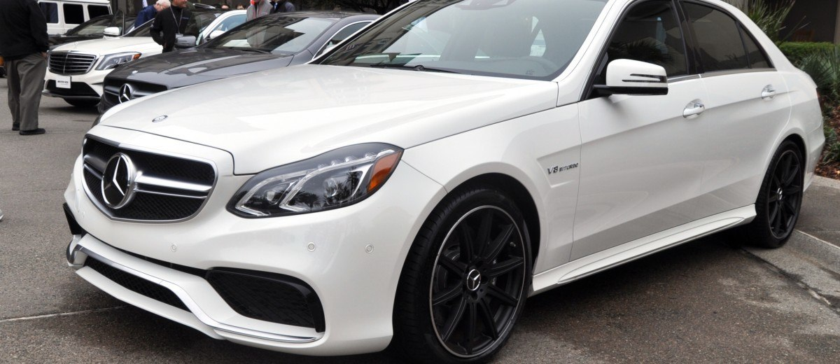 The White Knight -- 2014 Mercedes-Benz E63 AMG 4Matic S-Model On Camera + 21 All-New Photos 7
