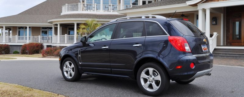 Three-Part HD Road Test Review + 60 Photos -- 2014 Chevrolet Captiva Sport LT -- Euro-Capable, High-Speed EconoCross!28
