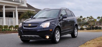 Three-Part HD Road Test Review + 60 Photos -- 2014 Chevrolet Captiva Sport LT -- Euro-Capable, High-Speed EconoCross!3