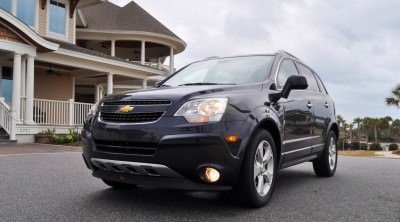 Three-Part HD Road Test Review + 60 Photos -- 2014 Chevrolet Captiva Sport LT -- Euro-Capable, High-Speed EconoCross!34