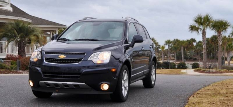 Three-Part HD Road Test Review + 60 Photos -- 2014 Chevrolet Captiva Sport LT -- Euro-Capable, High-Speed EconoCross!4
