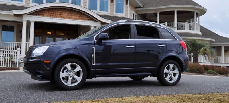 Three-Part HD Road Test Review + 60 Photos -- 2014 Chevrolet Captiva Sport LT -- Euro-Capable, High-Speed EconoCross!56