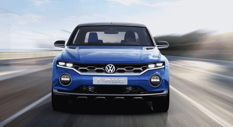 VW T-ROC GIF 1