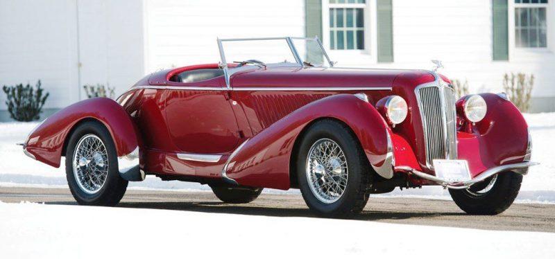 Video Walk-Around + 33 Photos -- 1935 Amilcar G36 Pegasé Boattail Roadster -- RM Auctions Amelia 2014 $467k 1