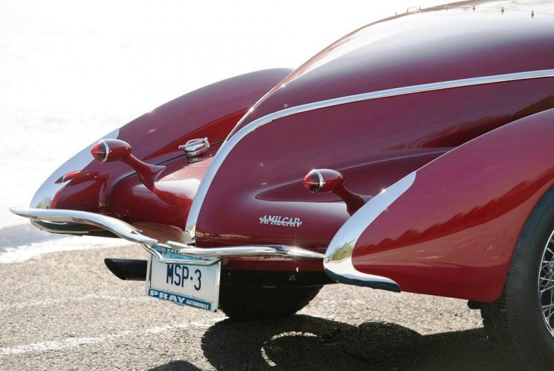Video Walk-Around + 33 Photos -- 1935 Amilcar G36 Pegasé Boattail Roadster -- RM Auctions Amelia 2014 $467k 17