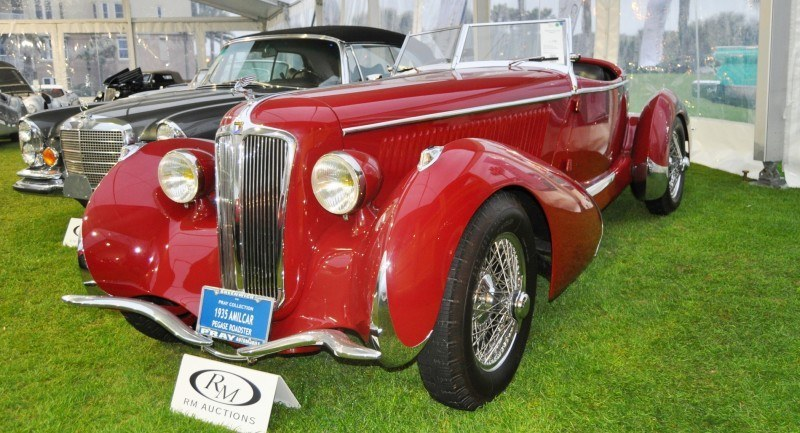 Video Walk-Around + 33 Photos -- 1935 Amilcar G36 Pegasé Boattail Roadster -- RM Auctions Amelia 2014 $467k 26