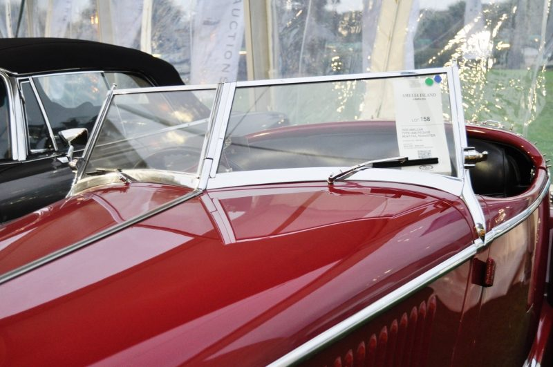 Video Walk-Around + 33 Photos -- 1935 Amilcar G36 Pegasé Boattail Roadster -- RM Auctions Amelia 2014 $467k 27